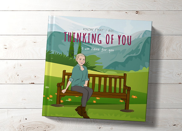 Personalised 'Thinking of you' Book