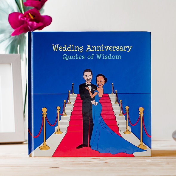 Personalised 'Anniversary' Book