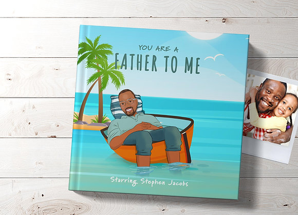 Personalised 'Father to me' Book