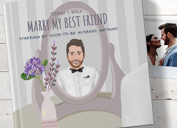 Personalised 'gift for my groom' Book