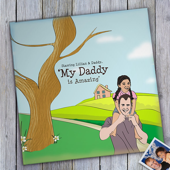 Personalised 'Amazing Daddy' Book