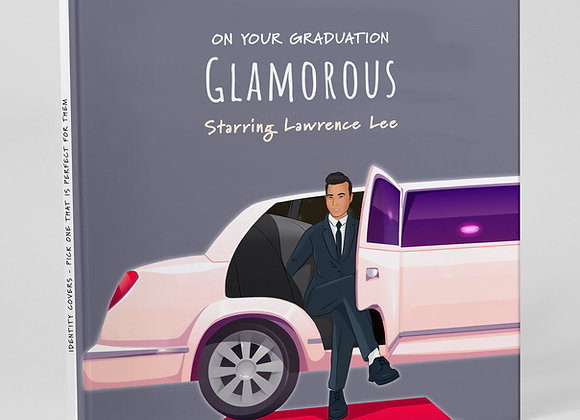 Personalised 'Glamorous' (Cover only)  -  Add to any book purchase