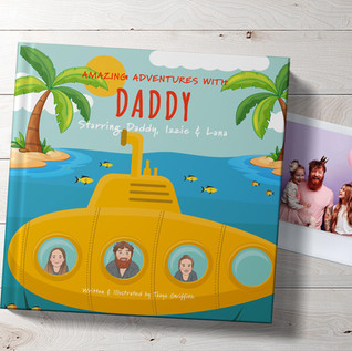 Personalised book for daddy