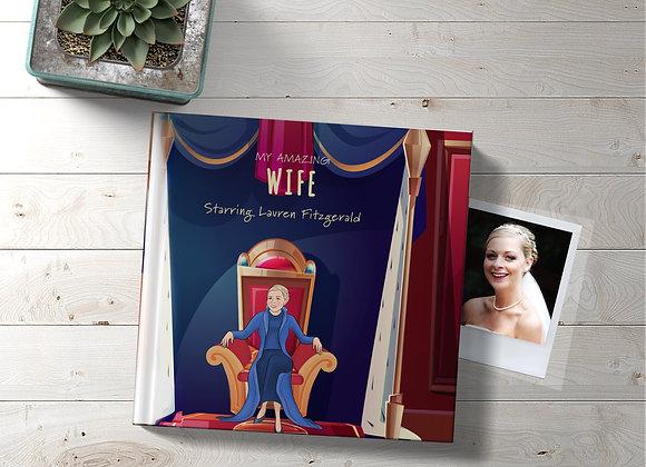 Personalised 'Female partner' Book