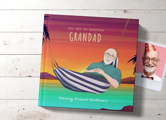 Personalised 'Grand Father' Book