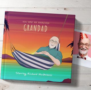 Personalised book for Grandad