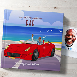 Personalised book for dad