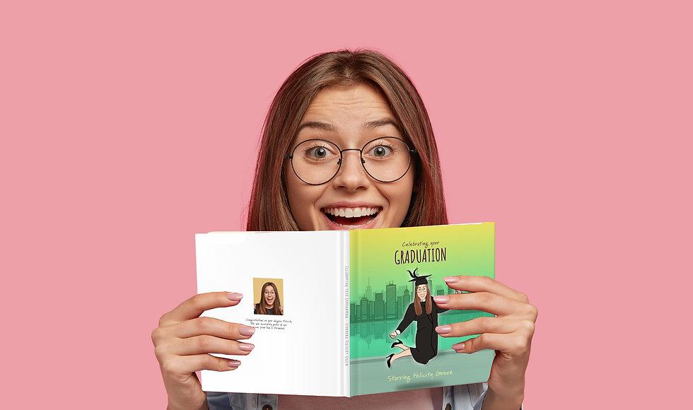 Personalised graduation book