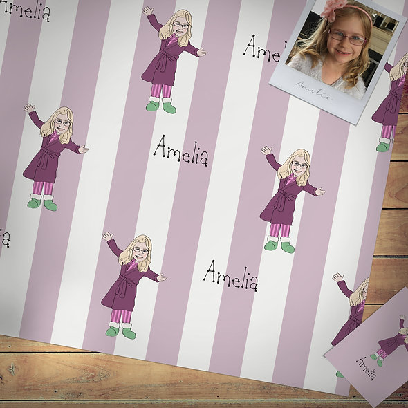 Personalised gift wrap | Children
