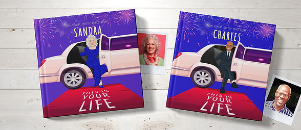 This is your life personalised book