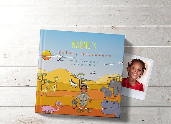Personalised 'Safari Adventure' Book