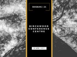 BIRCHWOOD CONFERENCE CENTRE