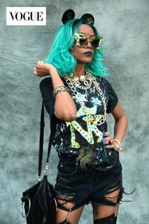 NK British Vogue - Afropunk Festival