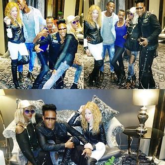 Naledi King...bonding with fam xxx