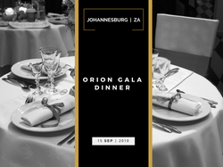 ORION GALA DINNER