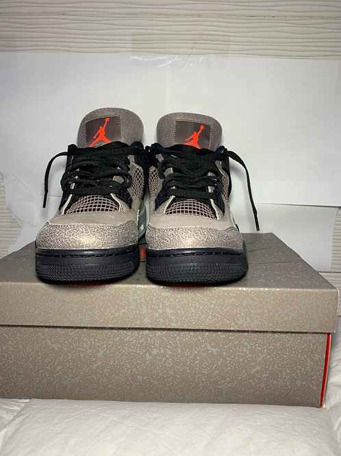Air Jordan 4 Retro GS 'Taupe Haze' Basketball Shoes (10.5)