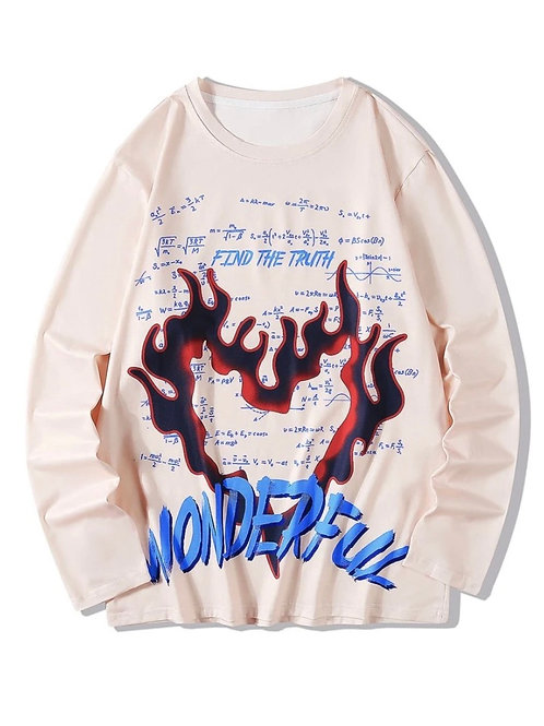 Flaming Heart Sweater