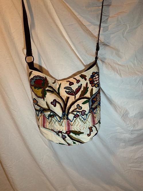 White Design Tote Bag