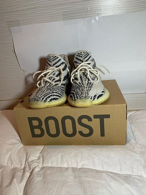 adidas Yeezy Boost 350 V2 'Zebra' (10) [USED]