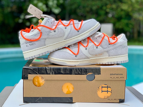 Nike Dunk Low Off-White 'Lot 11 out of 50'