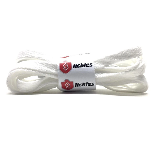 Jordan 1 White Laces Flat