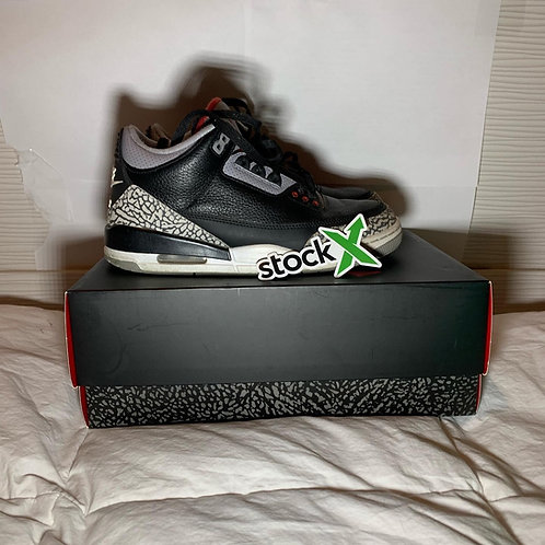 Jordan 3 Black Cement (8) [USED]
