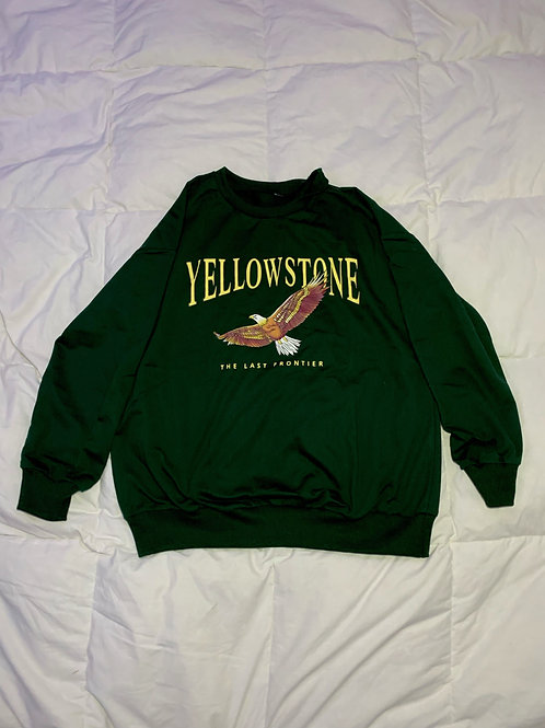 Green Yellowstone Sweater