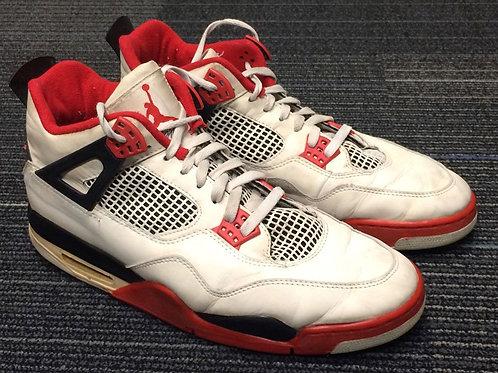 Nike Air Jordan 4 Retro Fire Red (USED)