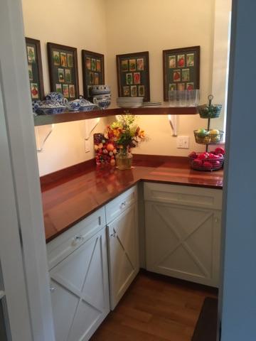 Stunning cabinets