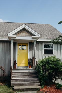 The Love Nest Front Door