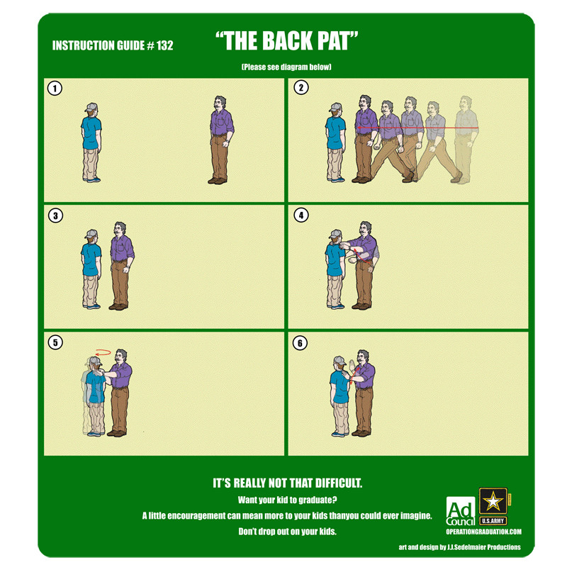 Ad Council : The Back Pat