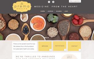 Prema Health website