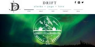 Drift Alaska website