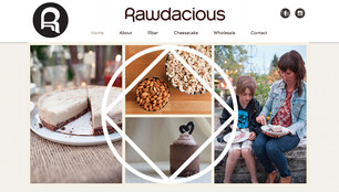 Rawdacious website