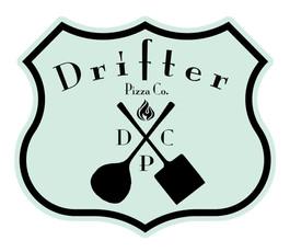 Drifter Pizza Logo Design