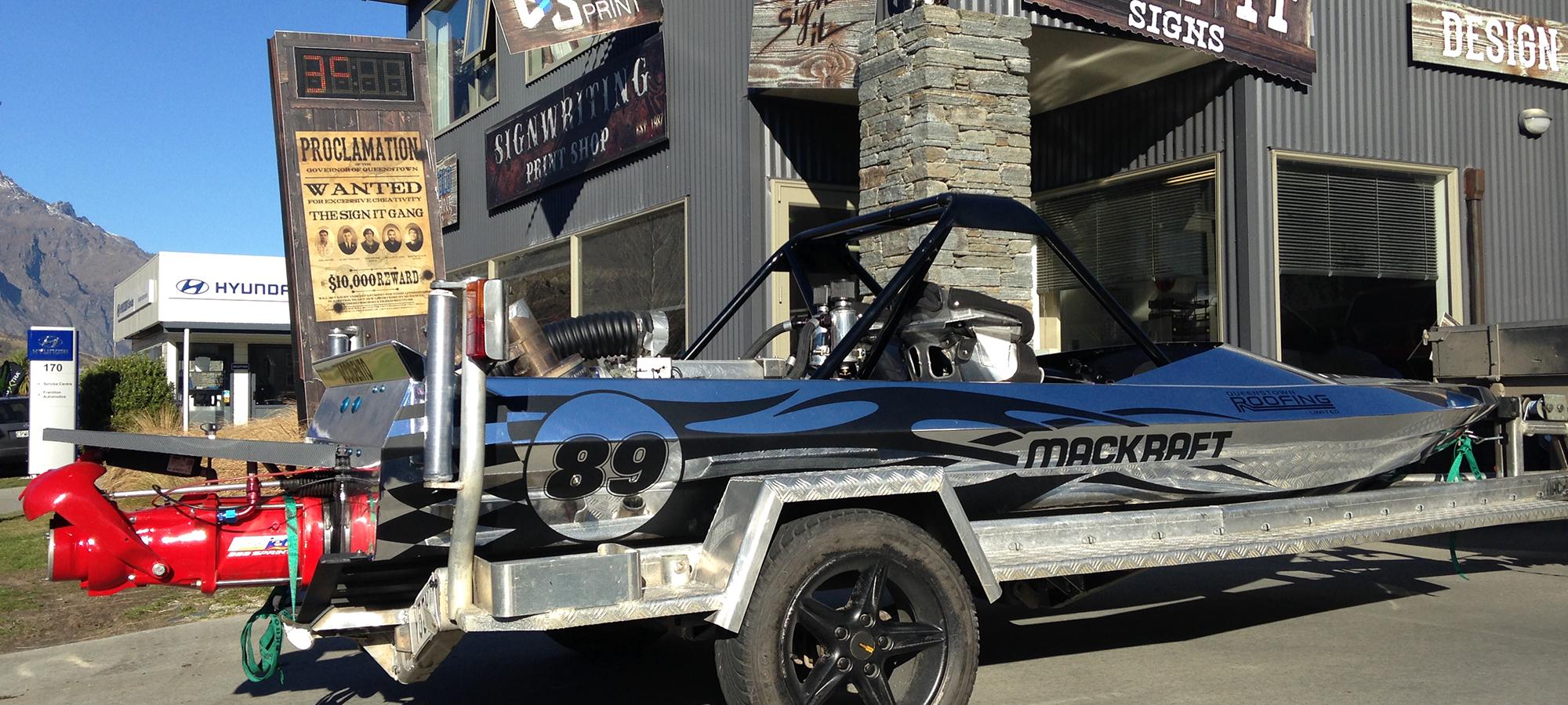 Magkraft Jet Boat