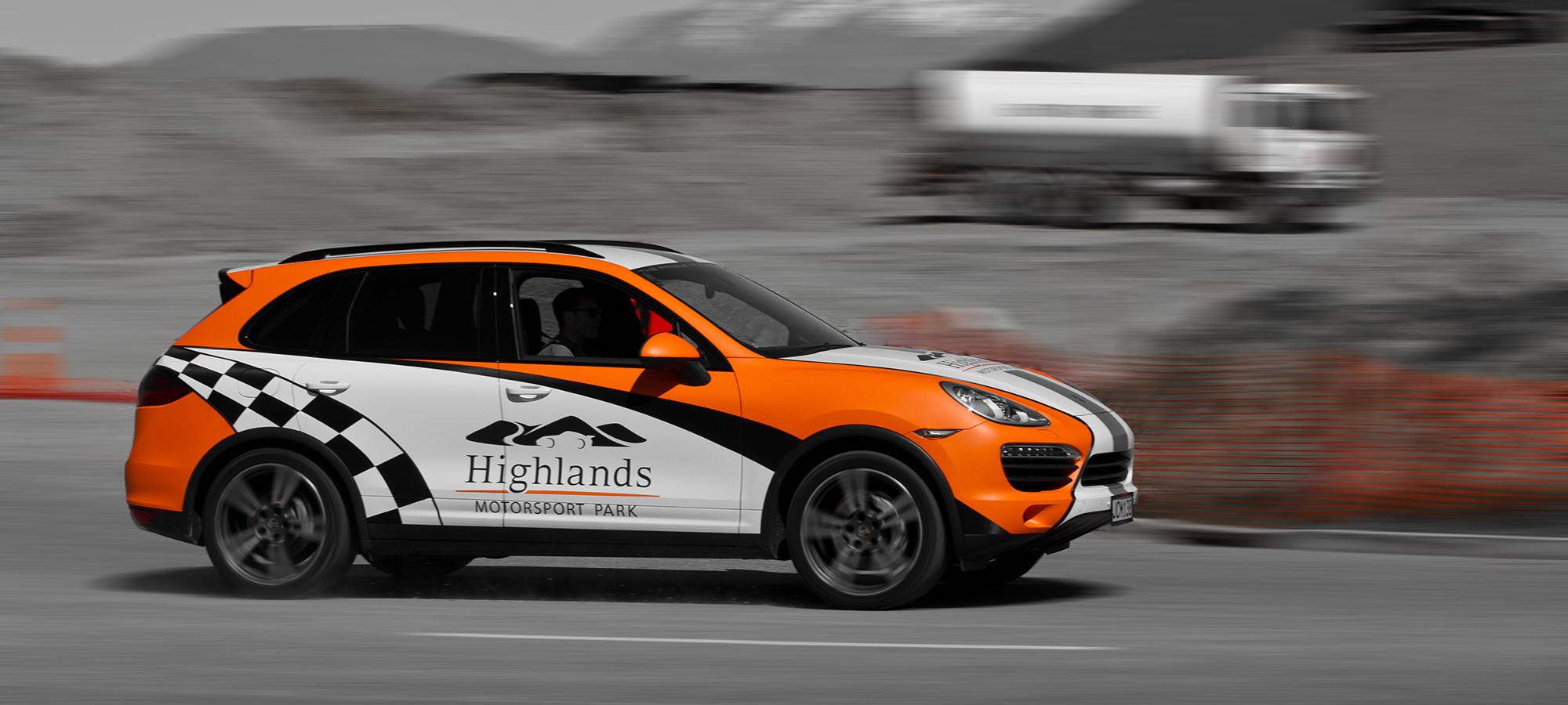 Highland Motorsport Park Porsche