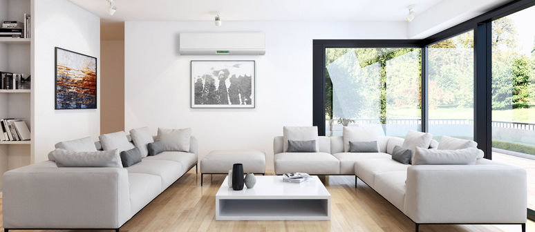 Air conditioning, keep warm in winter, cool in summer, heat pump