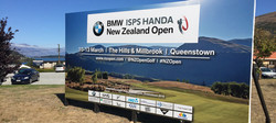 Golf Open Signage