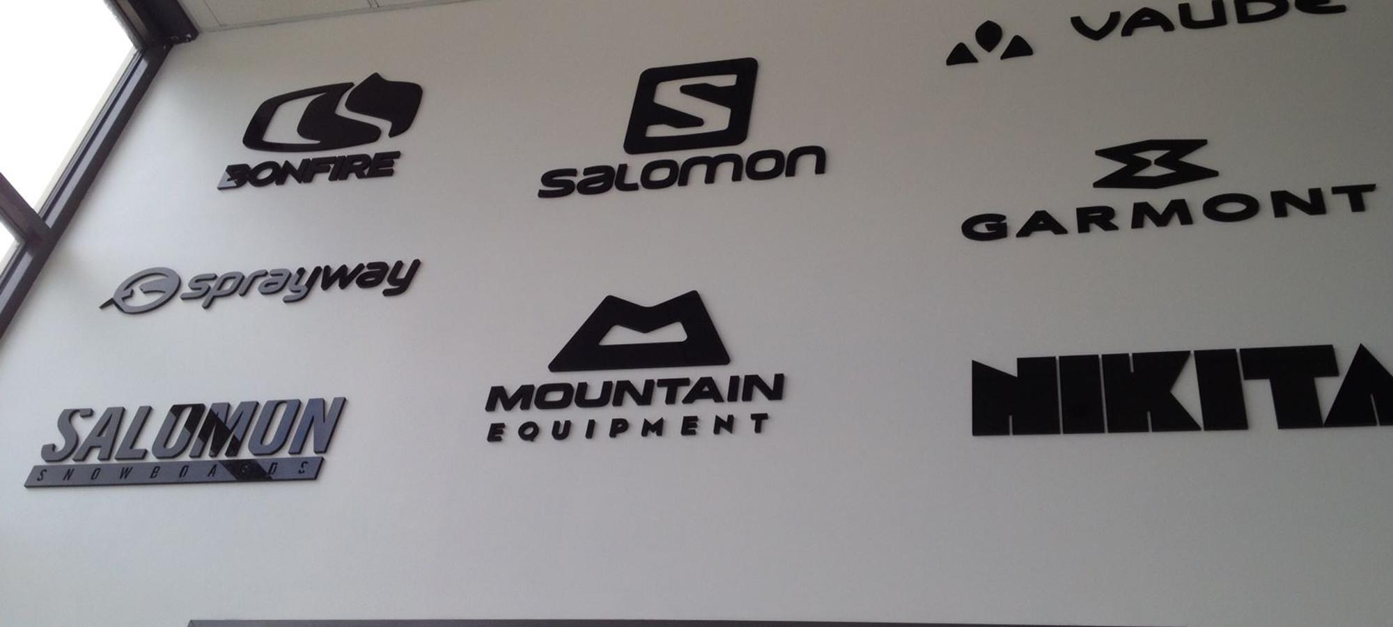 Ski Logos 3D