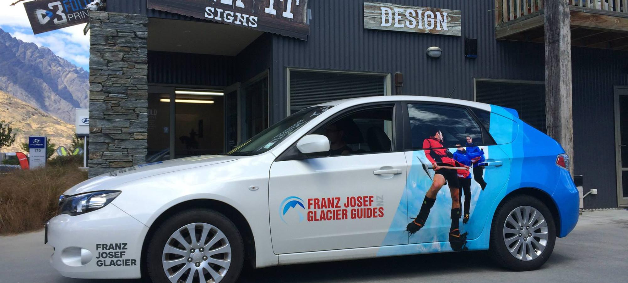 Franz Josef Glacier Walks Subaru