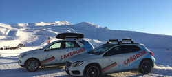 Cardona Ski Field Mercedes Benz