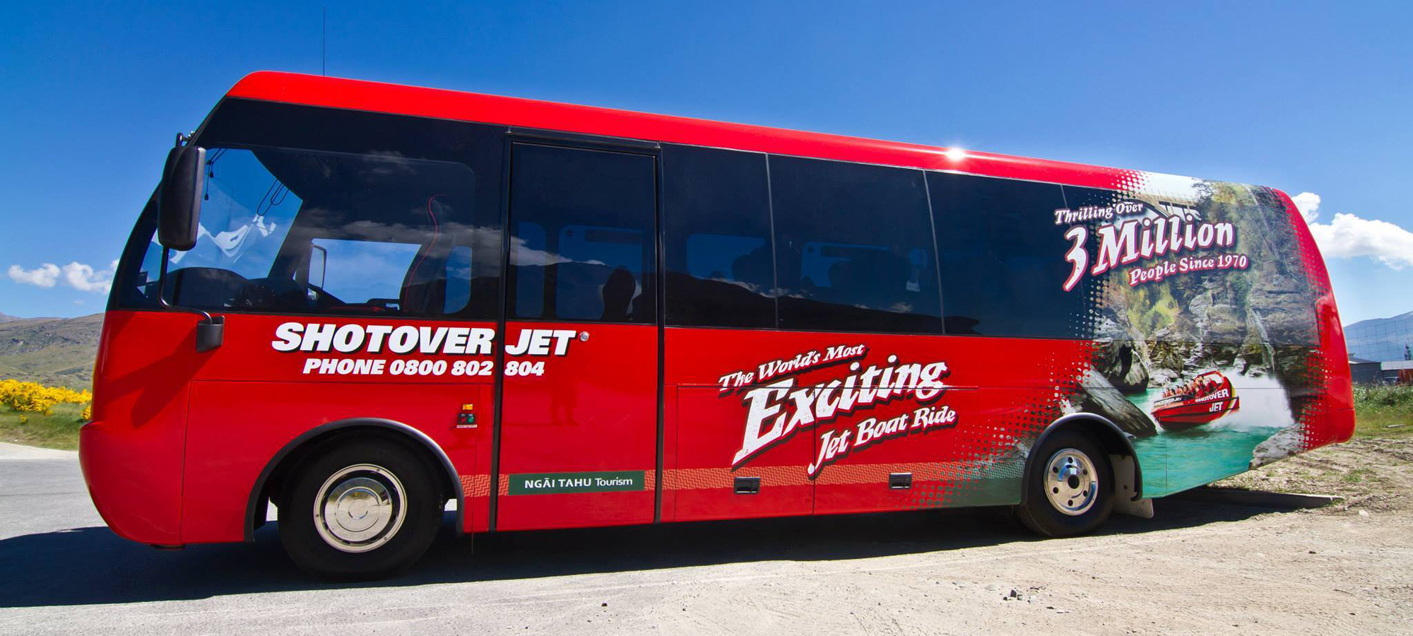Shotover Jet Bus
