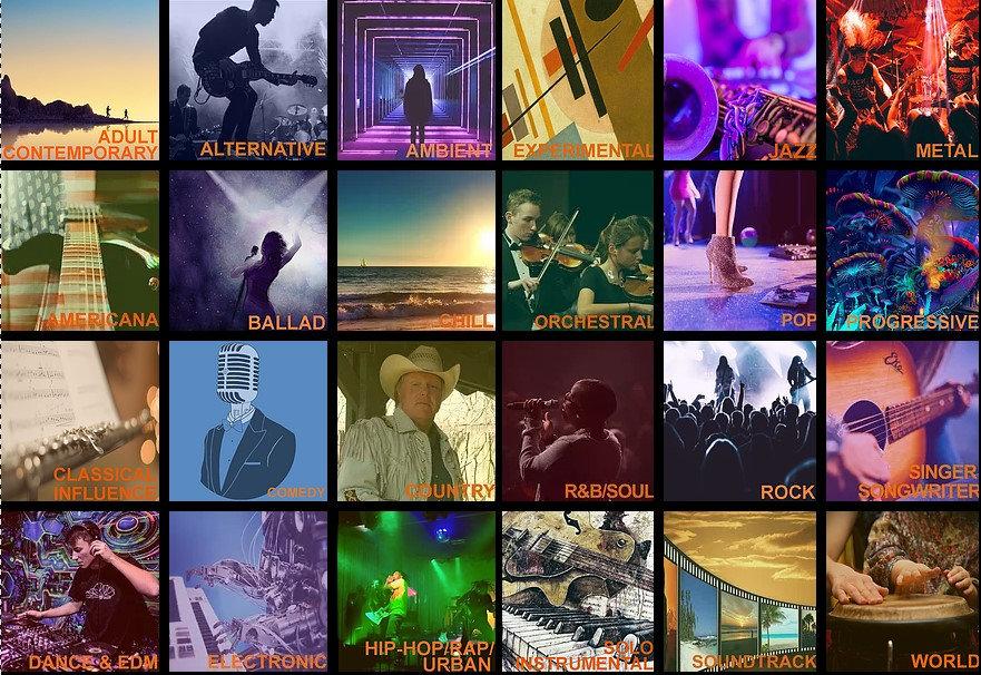ChromeOrange Music Home Page