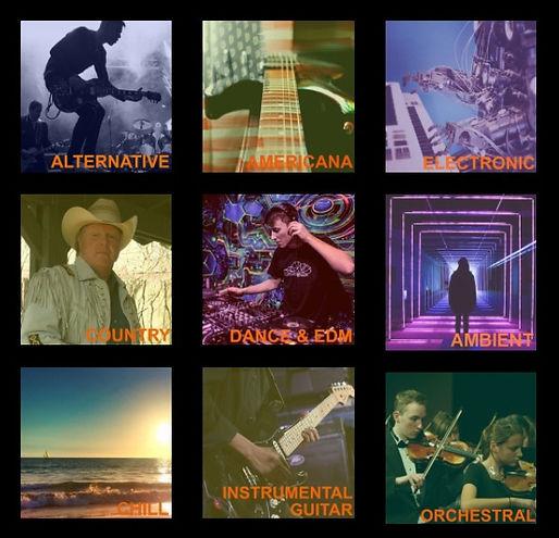 ChromeOrange Music Catalog