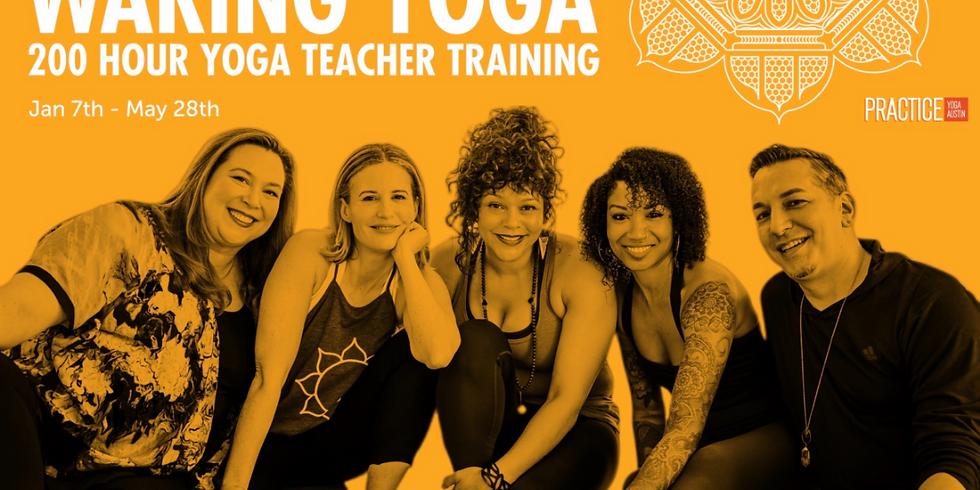 Waking Yoga 200 Hour Teacher Training