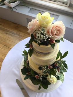 Carrot Cake Wedding Cake