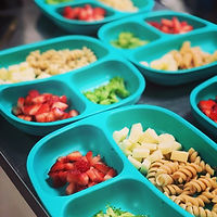 Organic lunch toddlers daycare child care
