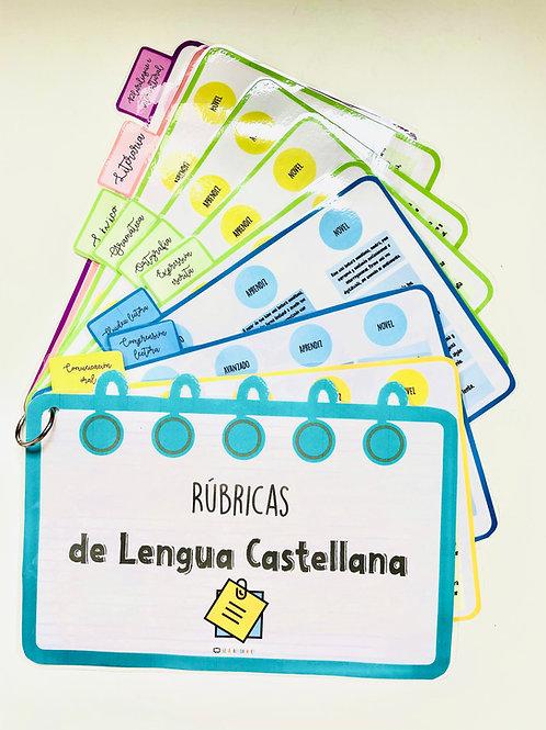 Rúbricas de lengua castellana