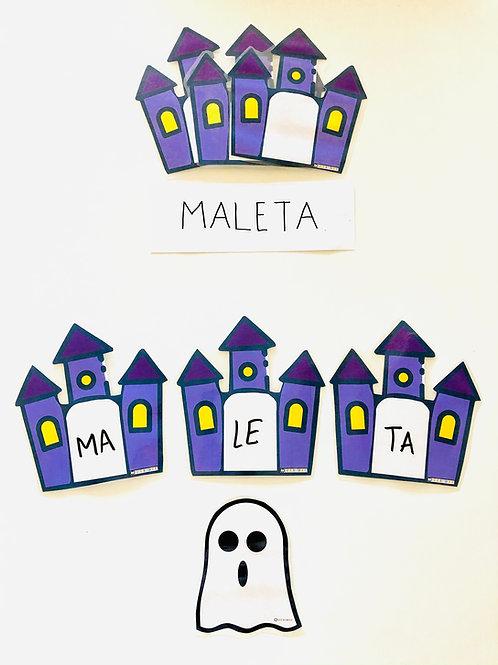 Separación sílabas Halloween